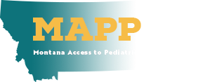 Logo for MAPP-Net - Montana Access to Pediatric Psychiatry Network